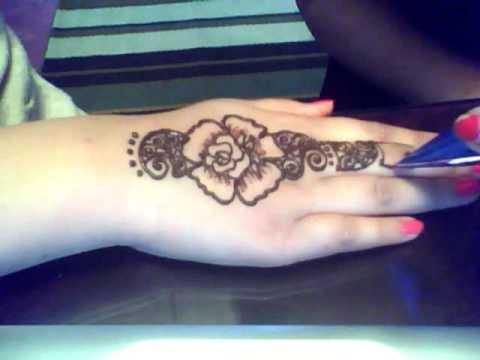 Henna By Sabina- Fancy Rose Design