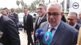 ابن كيران يعلن أغلبيته الحكومية