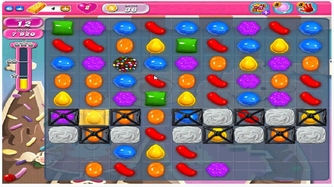 How To Unlock Level 36 On Candy Crush Saga With