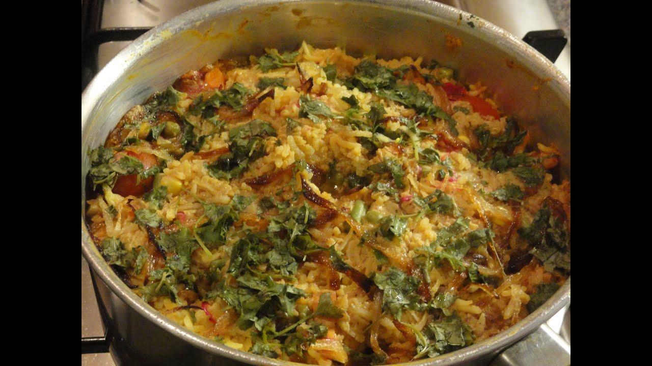 ... Veg Biryani Recipe In Marathi Biryani Recipe In Urdu In Hindi Veg In