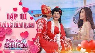 Khúc hát se duyên|tập 10 vòng làm quen: Phạm Linh đỏ mặt khi Kiều Minh Tuấn liên tục hôn Cát Phượng