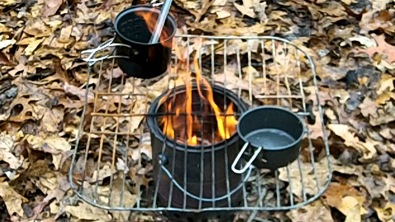 Paint Can Wood Gasifier : Homemade 1 gallon paint can wood gas stove - YouTube