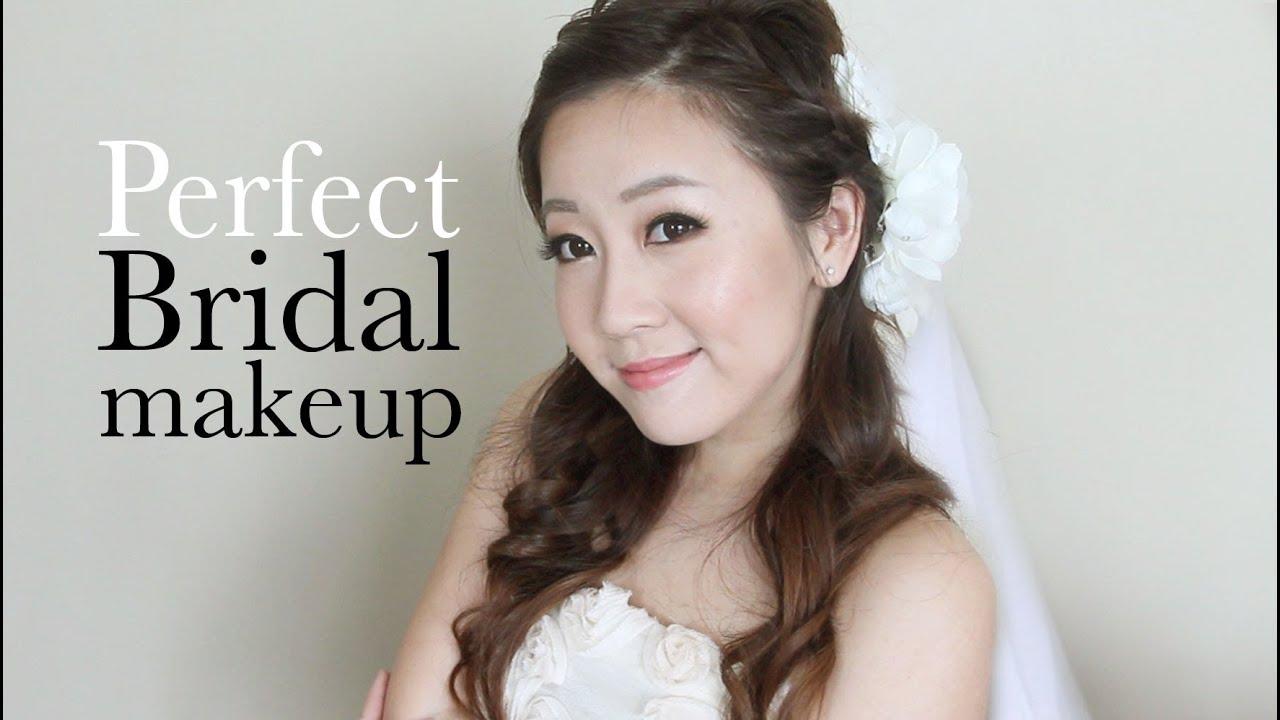 How To Apply Perfect Bridal Makeup : Perfect Bridal Makeup - YouTube