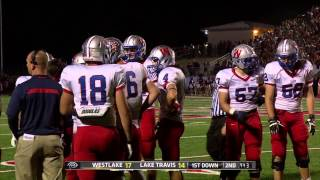 Austin Westlake vs Lake Travis 2013 - Full Broadcast