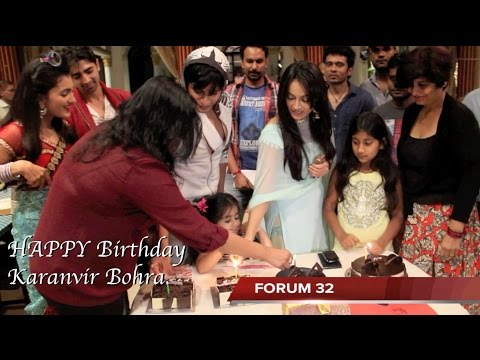 Qubool Hai | Karanvir Bohra Birthday Celebration