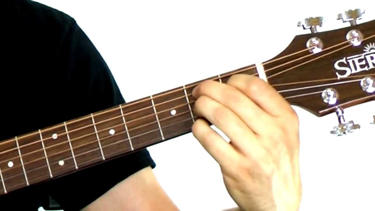 Beginning Guitar Chords 101 - Lesson #6 - B7 Chord - YouTube