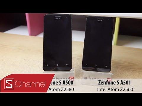 Zenfone 5 a501 vs Zenfone 5 a500: Liệu có sự khác biệt ?