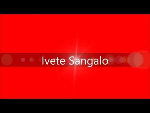 Tempo de alegria - Ivete Sangalo - Letra