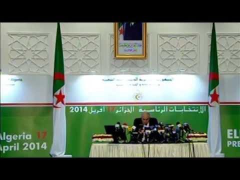 Résultats des élections présidentielles - Abdelaziz BOUTEFLIKA à plus de 81%