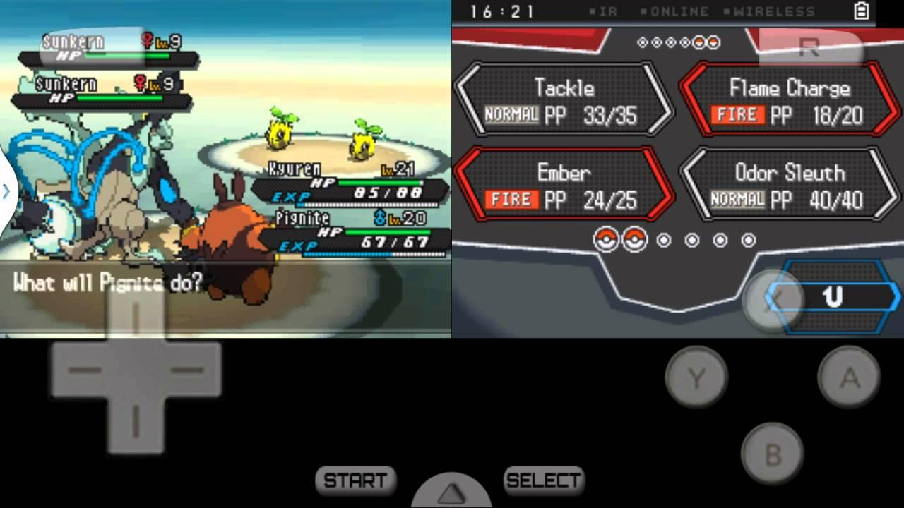 Pokemon schwarz 2 rom exp patch deutsch