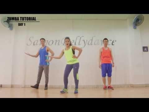 Học nhảy Zumba Fitness cơ bản Giảm cân - Bài 1 | Saigon Dance