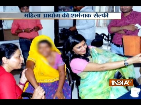 Rajasthan women commission member in soup over clicks 'selfie' with rape victim