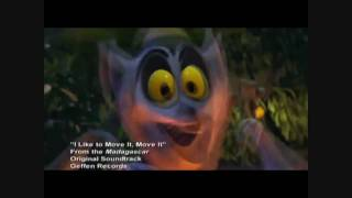 King Julien I Like To Move It , Move It