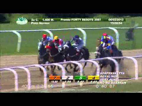 Vidéo de la course PMU PREMIO FORTY BESOTE