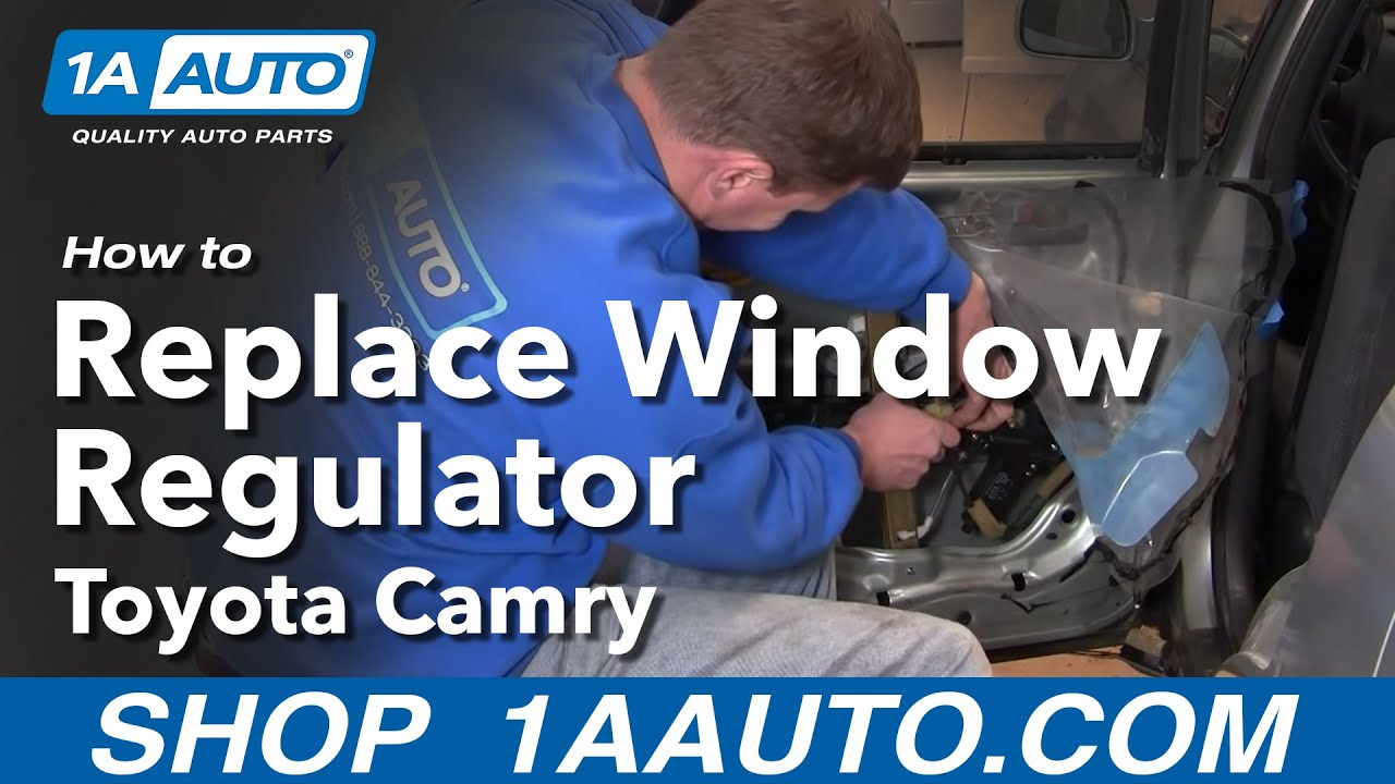 How To Install Replace Broken Rear Power Window Regulator