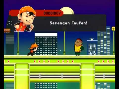 BoBoiBoy : BoBoiBoy and Gopal inside the PZ5 Video Game (Pt.2)