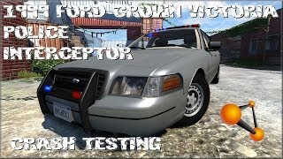 BeamNG Drive Alpha 1999 Ford Crown Victoria Police