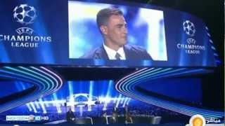 Champions League Draw Ceremony 2013