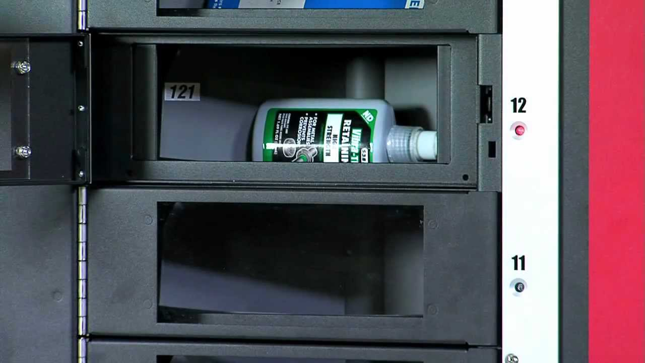 vending machine inventory management
