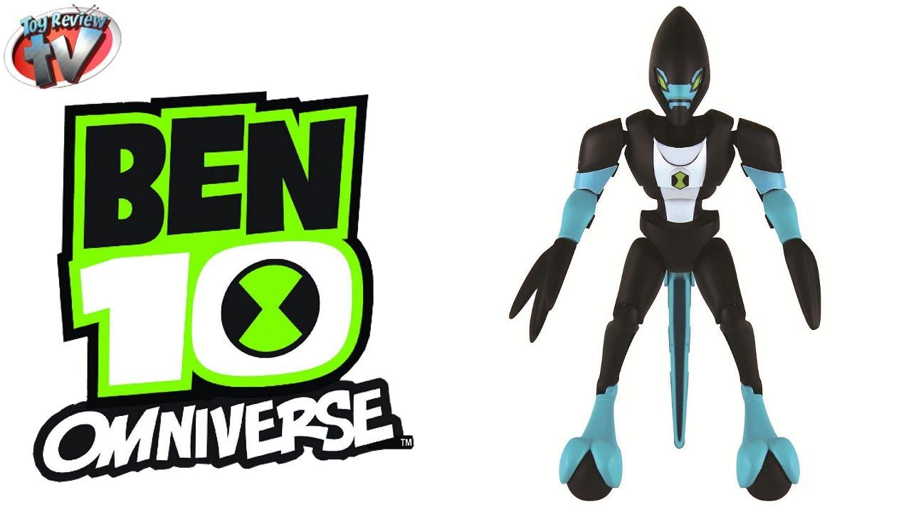 Ben 10 Omniverse Omni Kit Xlr8 Action Figure Toy Review