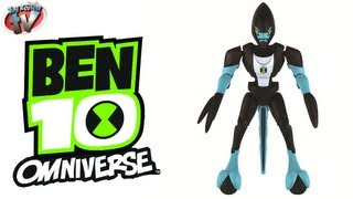 Ben 10 Omniverse Omni-Kit XLR8 Action Figure Toy Review