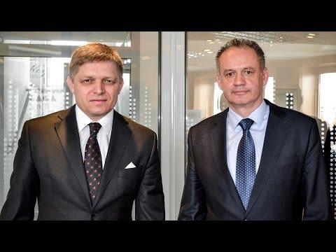 Naživo! Predvolebný duel: Robert Fico vs. Andrej Kiska