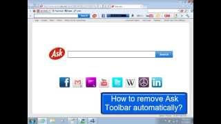 Remove Ask Toolbar And Search.ask.com From Browser