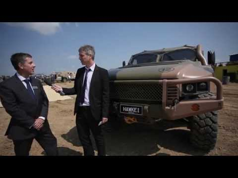 Thales launches export version of the Hawkei at Eurosatory 2014