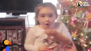 Girl Gets Exactly What She Wanted For Christmas | The Dodo