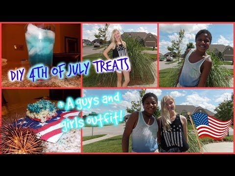 DIY 4th of July Treats + A Guys and Girls Outfit 2014! ft. Rachel