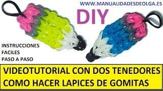 Como hacer un lápiz de gomitas