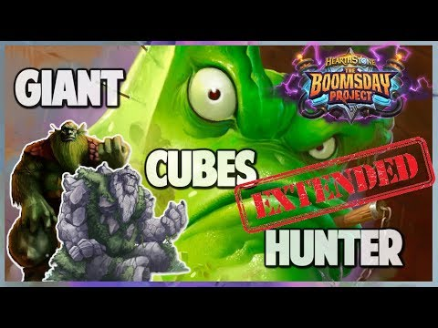 Giant Cubes Hunter | Extended Gameplay | Hearthstone | Boomsday Project