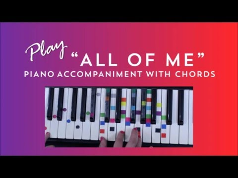 All Of Me - Easy Piano Tutorial - John Legend