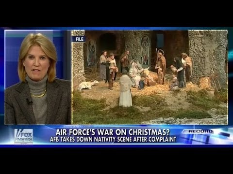 • U.S. Air Force joins 'War on Christmas' • Greta • 12/11/13 •
