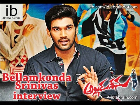 Bellamkonda Srinivas Talks About Alludu Seenu