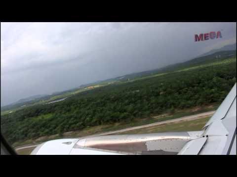 ✈ Air Asia AK 1364 :Take-off from Kuala Lumpur LCC to Bali