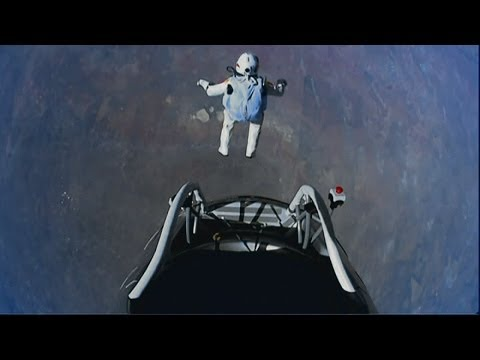 Record-breaking space skydiver Felix Baumgartner reveals his new challenge