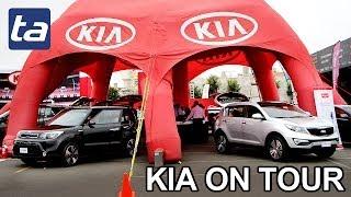 Kia On Tour: Exhibición De Vehículos En Open Plaza De La