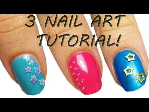 3 Nail Art Tutorial