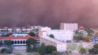 Lubbock Dust Storm, Sand Storm, Haboob