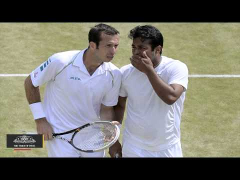 Paes-Stepanek In Wimbledon Semifinals - TOI