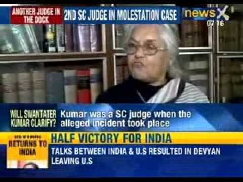 Sexual harassment: Former SC judge Swatanter Kumar accused of molesting an intern - NewsX