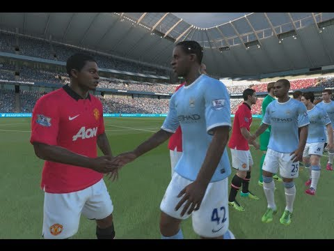 FIFA 14 (PS4) - Manchester City vs Manchester United (Full Match)