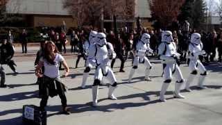 Stormtrooper Twerk Meets BYU