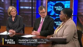 Beat the Press: Farrow's Past