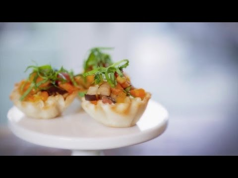 Ratatouille Tartlets