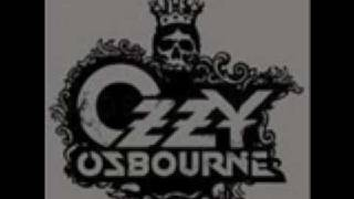 Ozzy Osbourne - I Don't Wanna Stop (lyrics)