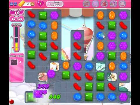 How To Beat Candy Crush Saga Level 427 2 Stars No Boosters 95