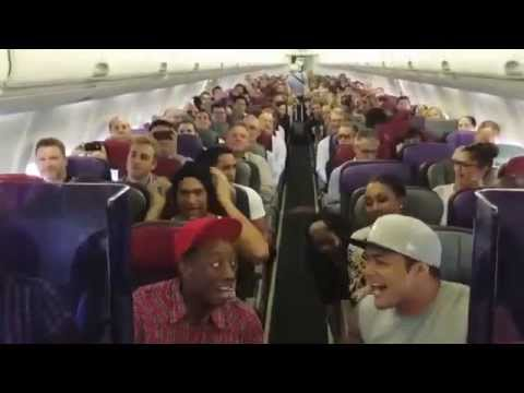 THE LION KING Australia: cast sing Circle of Life on flight home from Brisbane