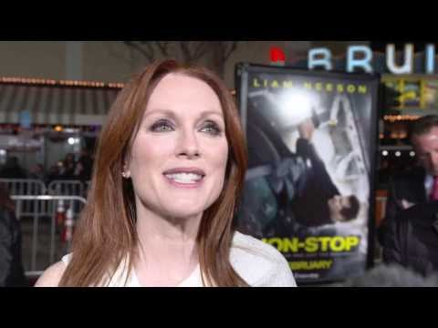 Non-Stop: Julianne Moore Movie Premiere Interview
